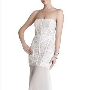 GORGEOUS BCBG long lace dress never worn (w.tags)